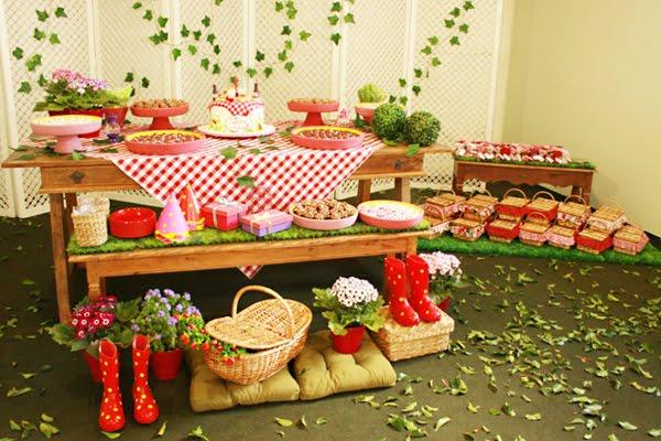 decoracao festa quintal:Festa entre amigas