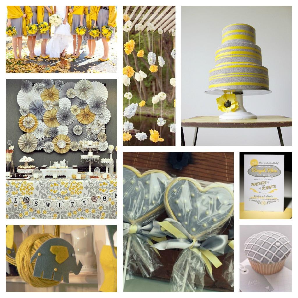Inspiração cinza+amarelo